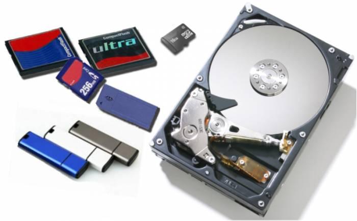 Восстановление данных (флешки, жесткие диски, карты памяти)